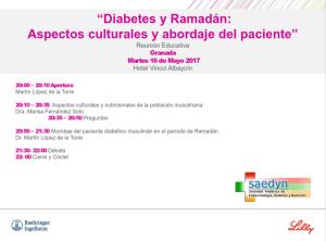 Diabetes y Ramadan